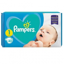 PAMPERS ACTIVE BABY 1 2-5КГ 43БР