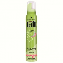 TAFT ПЯНА ЗА КОСА VOLUME MOUSSE ULTRA STRONG 4 ЗА ОБЕМ 200МЛ
