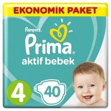 PAMPERS ПАМПЕРСИ PRIMA JUMBO 8-14КГ /4-КА/