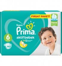 PRIMA 6 ПАМПЕРС 13-18КГ 40БР