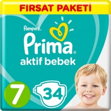 PRIMA 7 ПАМПЕРС 15+КГ 34БР