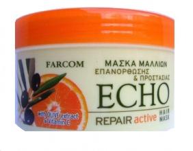 Echo възтановяваща маска за суха и изтощена коса