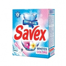 Savex 2in1 White & Color прах за пране
