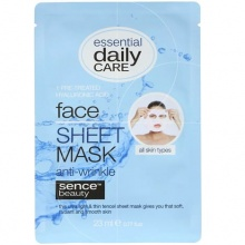 SENCE BEAUTY МАСКА ЗА ЛИЦЕ FACIAL SHEET HYALURONIC 23МЛ