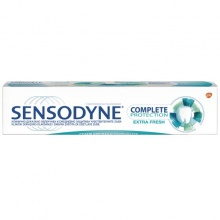 SENSODYNE ПАСТА ЗА ЗЪБИ COMPLETE PROTECTION EXTRA FRESH 75МЛ