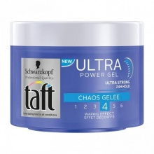 TAFT ГЕЛ ЗА КОСА ULTRA CHAOS GELEE 4 200 МЛ.