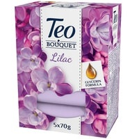 TEO САПУН BOUQUET LILAC 5БР X 70ГР