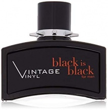 NUPARFUMS BLACK IS BLACK VINTAGE VINYL ТОАЛЕТНА ВОДА БЕЗ ОПАКОВКА ЗА МЪЖЕ 100МЛ