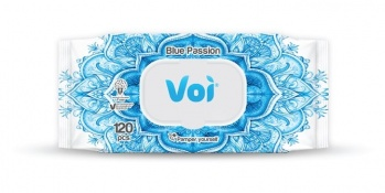VOI МОКРИ КЪРПИ BLUE PASSION КАПАК 120БР