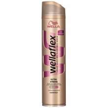 WELLA WELLAFLEX ЛАК ЗА КОСА VOLUME & REPAIR ULTRA STRONG 400МЛ