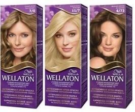 Wella Wellaton боя за коса