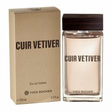 YVES ROCHER ТОАЛЕТНА ВОДА CUIR VETIVER ЗА МЪЖЕ 100МЛ