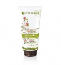 YVES ROCHER ШАМПОАН ЗА КОСА BOTANICAL HAIR CARE LOW SHAMPOO DELICATE CLEANSING CREAM 200МЛ