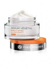 YVES ROCHER КРЕМ ЗА ЛИЦЕ SERUM VEGЕTAL RIDES AND LIFTING НОЩНА ГРИЖА 50МЛ
