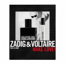 ZADIG & VOLTAIRE THIS IS HIM EDT ТОАЛЕТНА ВОДА ЗА МЪЖЕ 50МЛ + EDT 10МЛ