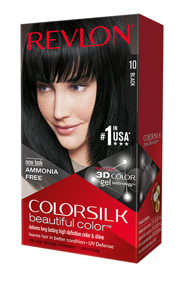 Revlon ColorSilk боя за коса REVLON БОЯ ЗА КОСА COLORSILK 010 BLACK