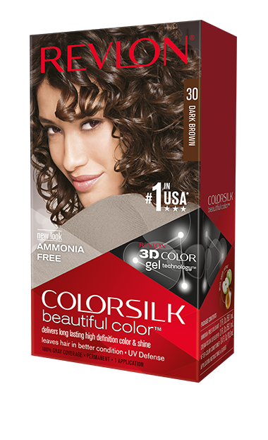 Revlon ColorSilk боя за коса REVLON БОЯ ЗА КОСА COLORSILK 030 DARK BROWN