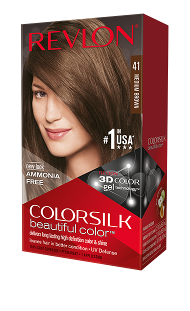 Revlon ColorSilk боя за коса REVLON БОЯ ЗА КОСА COLORSILK 041 MEDIUM BROWN