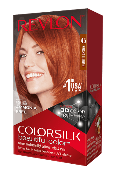 Revlon ColorSilk боя за коса REVLON БОЯ ЗА КОСА COLORSILK 045 BRIGHT AUBURN