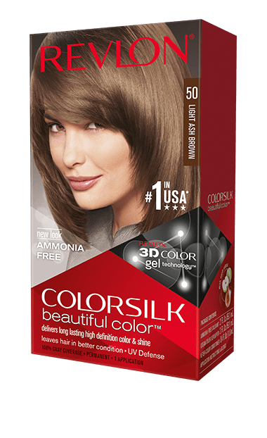 Revlon ColorSilk боя за коса REVLON БОЯ ЗА КОСА COLORSILK 050 LIGHT ASH BROWN