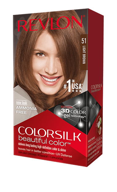 Revlon ColorSilk боя за коса REVLON БОЯ ЗА КОСА COLORSILK 051LIGHT BROWN