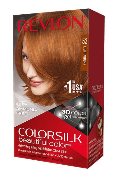 Revlon ColorSilk боя за коса REVLON БОЯ ЗА КОСА COLORSILK 053 LIGHT AUBURN