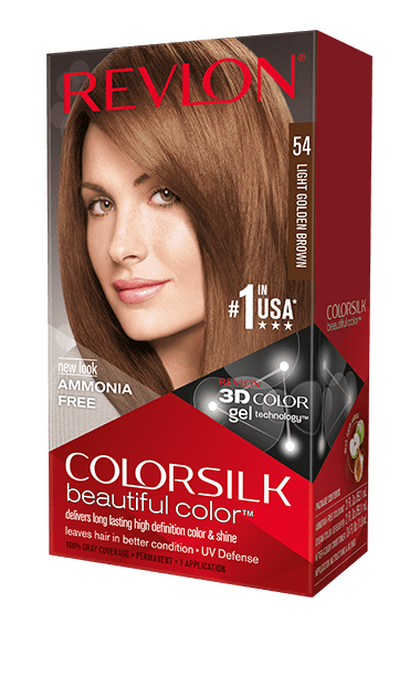 Revlon ColorSilk боя за коса REVLON БОЯ ЗА КОСА COLORSILK 054 LIGHT GOLDEN BROWN