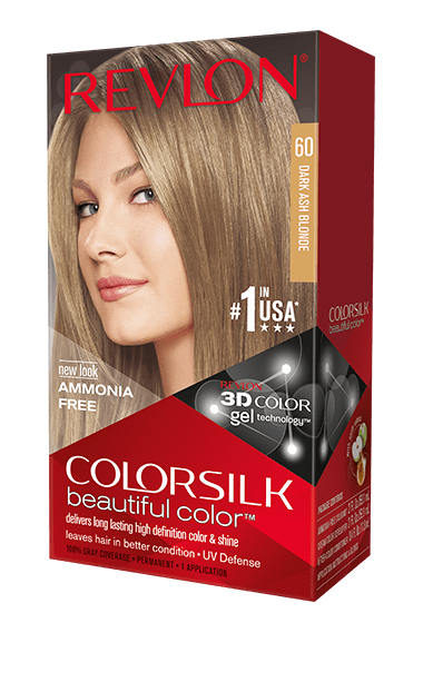 Revlon ColorSilk боя за коса REVLON БОЯ ЗА КОСА COLORSILK 060 DARK ASH BLONDE