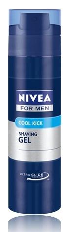 Nivea For Men Cool Kick освежаващ гел за бръснене за мъже