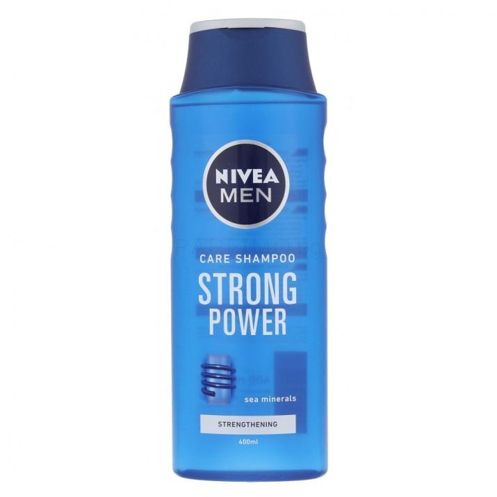 NIVEA ШАМПОАН ЗА КОСА MEN ЗА МЪЖЕ 400МЛ Nivea Men Strong Power шампоан за мъже