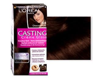 L'OREAL БОЯ ЗА КОСА CASTING CREME GLOSS L'oreal Casting Creme Gloss боя за коса, Вариант: 323 черен шоколад