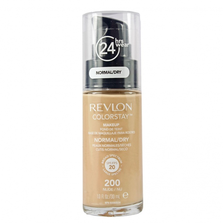Revlon ColorStay Dry & Normal фон дьо тен за нормална и суха кожа 30мл Revlon ColorStay Dry & Normal фон дьо тен за нормална и суха кожа 30мл, Вариант: 200 Nude