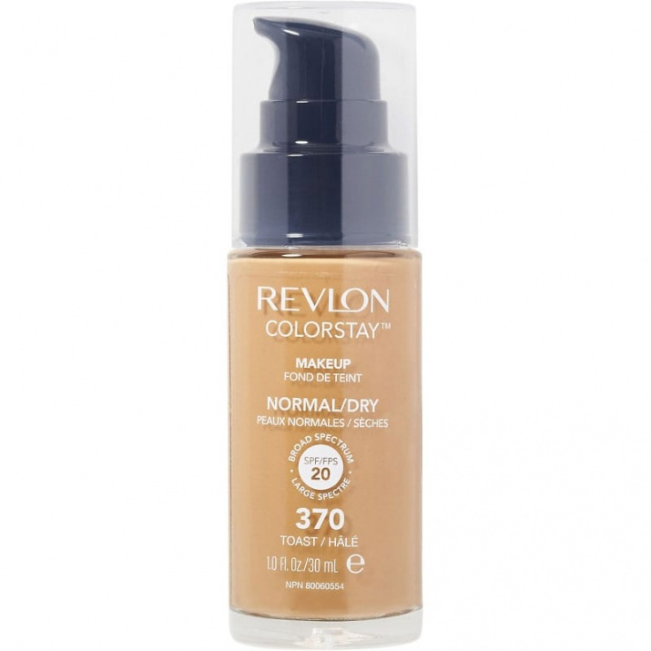 Revlon ColorStay Dry & Normal фон дьо тен за нормална и суха кожа 30мл Revlon ColorStay Dry & Normal фон дьо тен за нормална и суха кожа 30мл, Вариант: 370 Toast