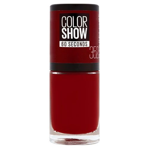 Maybelline Color Show лак за нокти MAYBELLINE ЛАК ЗА НОКТИ COLOR SHOW 7МЛ 352 DOWNTOWN RED