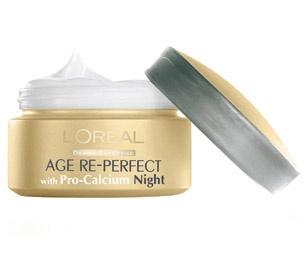 L`ORéAL Age Re-Perfect Pro-Calcium нощен крем за лице с..