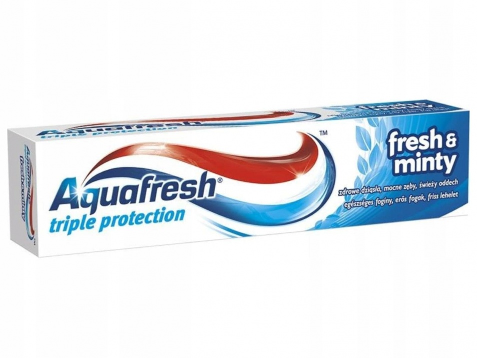 AQUAFRESH ПАСТА ЗА ЗЪБИ TOTAL CARE FRESH & MINTY 50МЛ