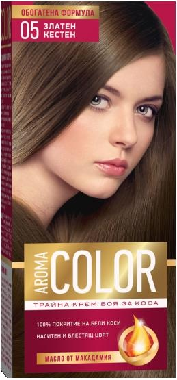 AROMA COLOR БОЯ ЗА КОСА 45МЛ AROMA COLOR БОЯ ЗА КОСА 05