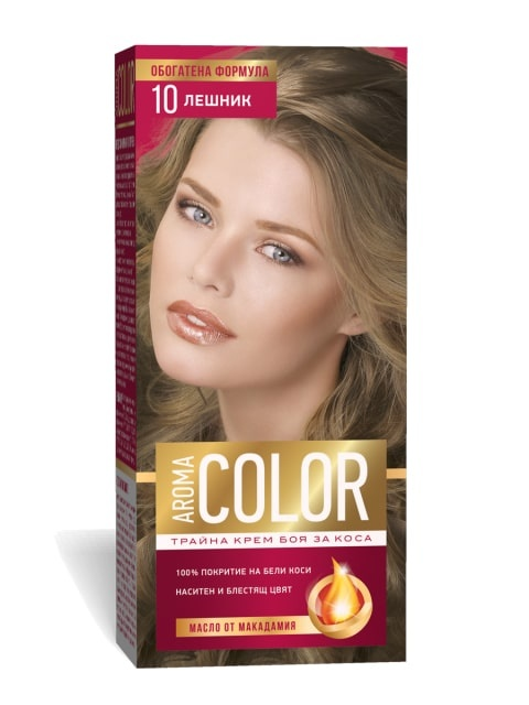 AROMA COLOR БОЯ ЗА КОСА 45МЛ AROMA COLOR БОЯ ЗА КОСА 10