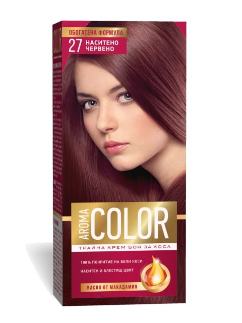 AROMA COLOR БОЯ ЗА КОСА 45МЛ AROMA COLOR БОЯ ЗА КОСА 27
