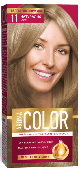 AROMA COLOR БОЯ ЗА КОСА 45МЛ AROMA COLOR БОЯ ЗА КОСА 11