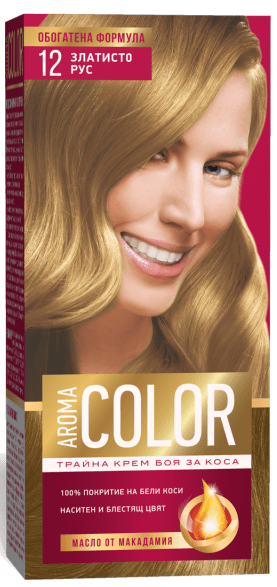 AROMA COLOR БОЯ ЗА КОСА 45МЛ AROMA COLOR БОЯ ЗА КОСА 12