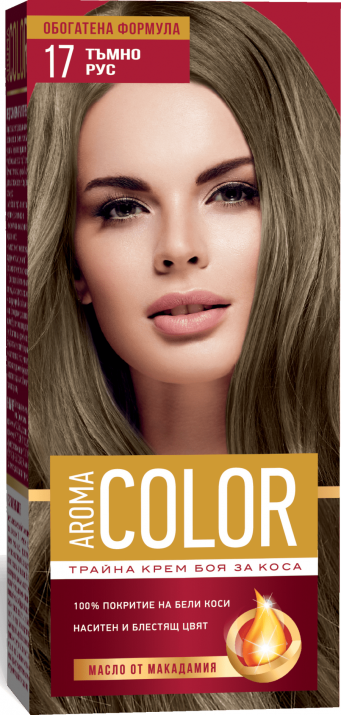 AROMA COLOR БОЯ ЗА КОСА 45МЛ AROMA COLOR БОЯ ЗА КОСА 17