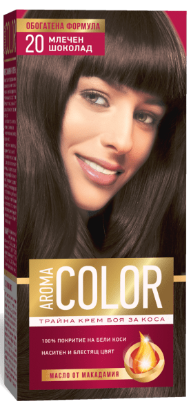 AROMA COLOR БОЯ ЗА КОСА 45МЛ AROMA COLOR БОЯ ЗА КОСА 20