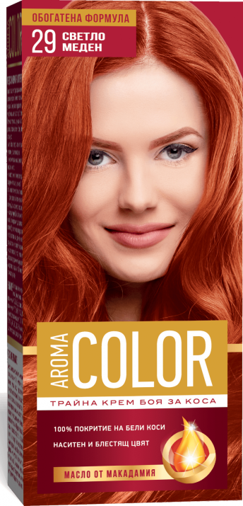 AROMA COLOR БОЯ ЗА КОСА 45МЛ AROMA COLOR БОЯ ЗА КОСА 29