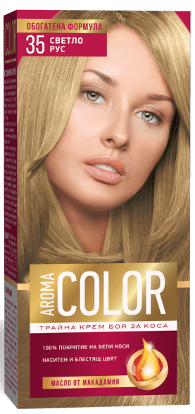 AROMA COLOR БОЯ ЗА КОСА 45МЛ AROMA COLOR БОЯ ЗА КОСА 35