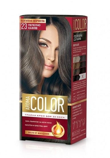 AROMA COLOR БОЯ ЗА КОСА 45МЛ AROMA COLOR БОЯ ЗА КОСА 23
