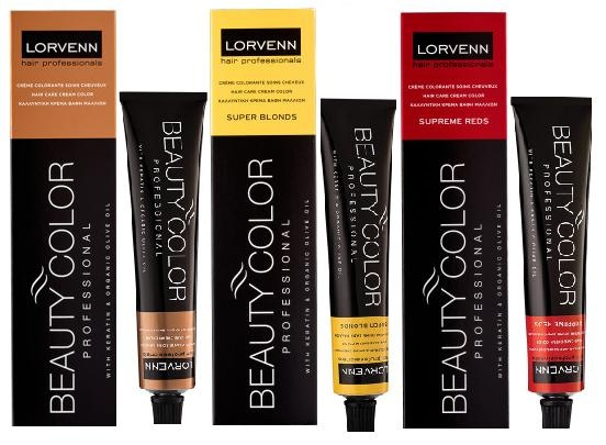 LORVENN КРЕМ БОЯ ЗА КОСА BEAUTY COLOR PROFESSIONAL 70МЛ
