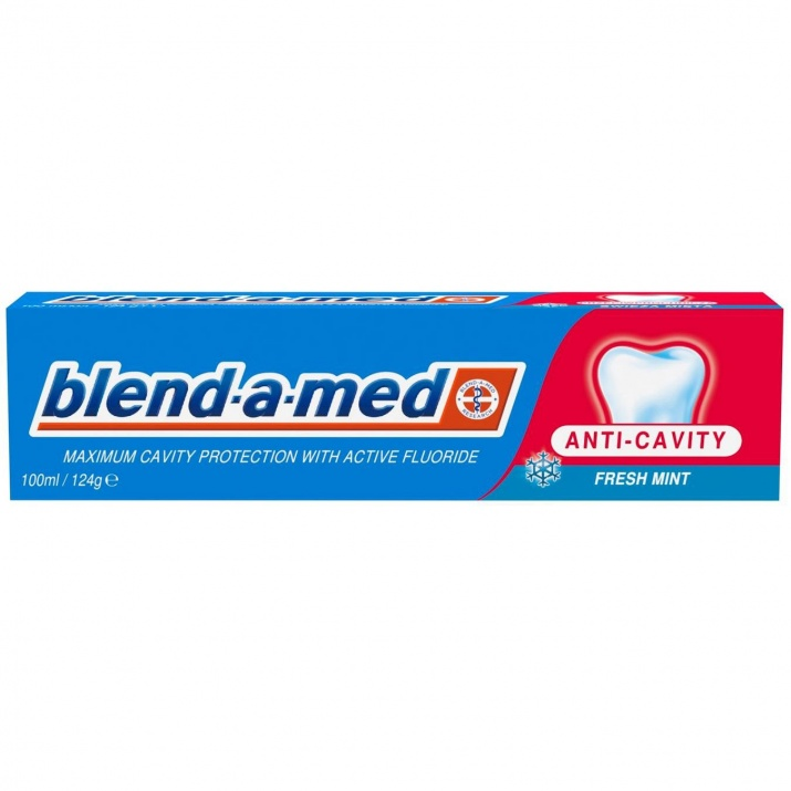 BLEND-A-MED ПАСТА ЗА ЗЪБИ  ANTI CAVITY FRESH MINT СИНЯ 100МЛ