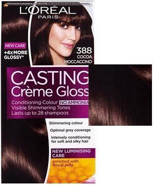 L'OREAL БОЯ ЗА КОСА CASTING CREME GLOSS L'oreal Casting Creme Gloss боя за коса, Вариант: 388 какаово мокачино