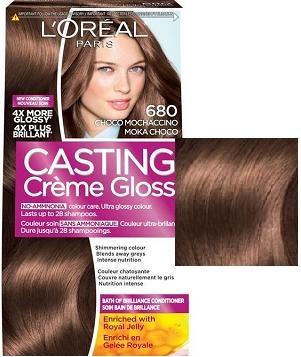 L'OREAL БОЯ ЗА КОСА CASTING CREME GLOSS L'oreal Casting Creme Gloss боя за коса, Вариант: 680 шоколадово мокачино